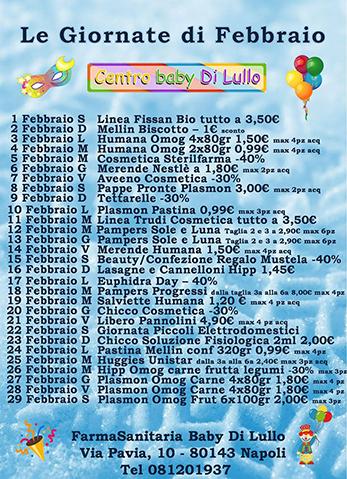 Centro Baby Febbraio 2020 su sito