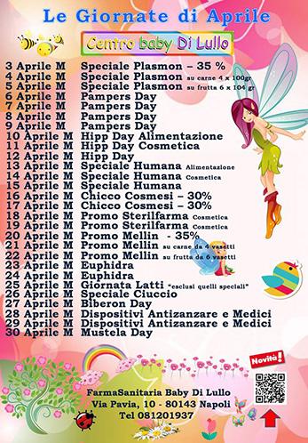 Giornate FarmaBaby di Lullo - Aprile 2018 - su sito