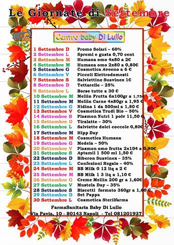 Giornate Settembre - Farmababy di Lullo su sito
